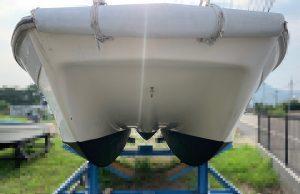 ニッサン SUNCAT-7.7 船底
