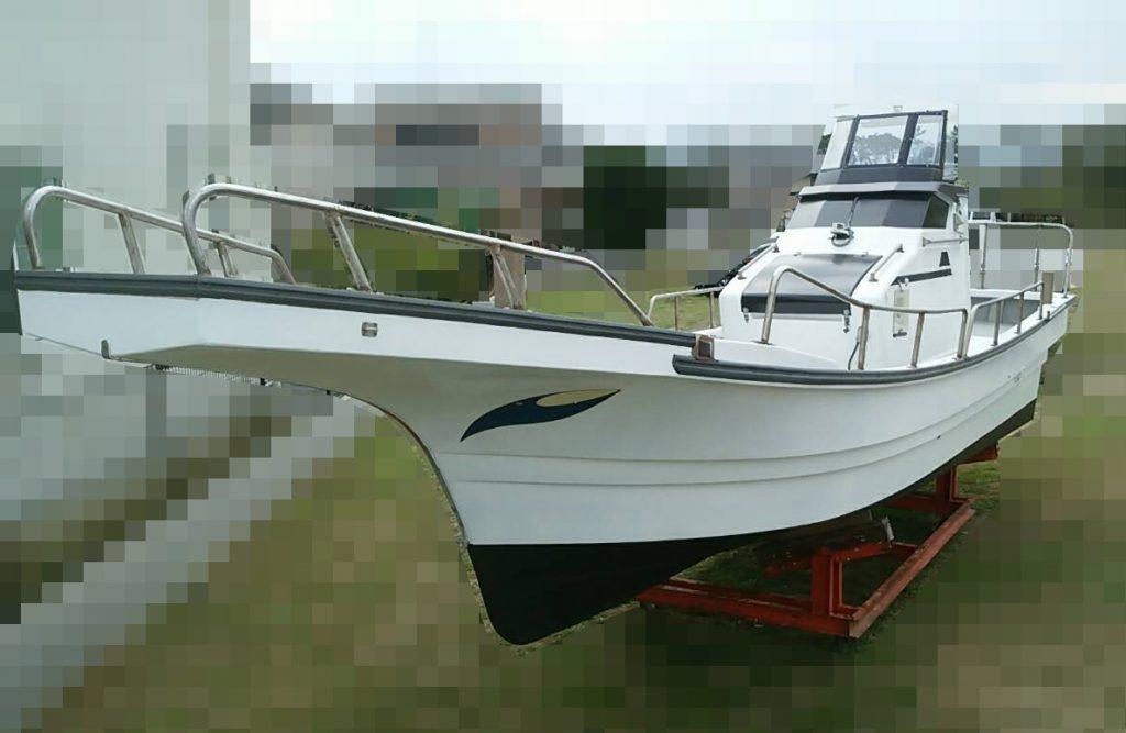 ヤンマー DE26BZ2 中古船 バルカローレ