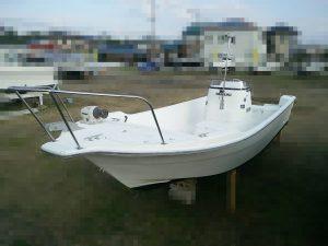スズキFE210 50馬力4スト船外機付
