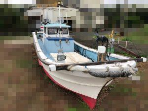 ヤマハ漁船25馬力シャフト船