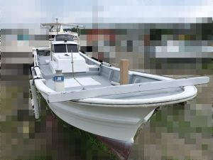 ヤマハ32ft漁船