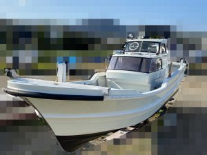 ヤマハ DX-32 シャフト船